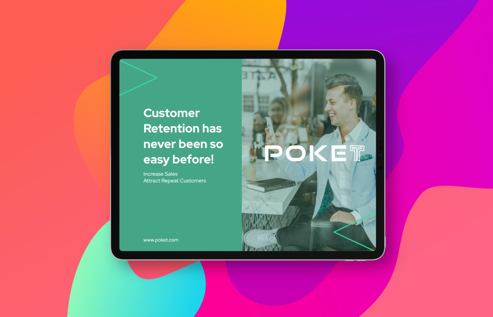 Poket merchant app - loyalty reward software