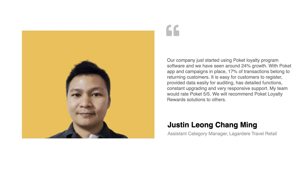 Lagardere Customer Loyalty Program