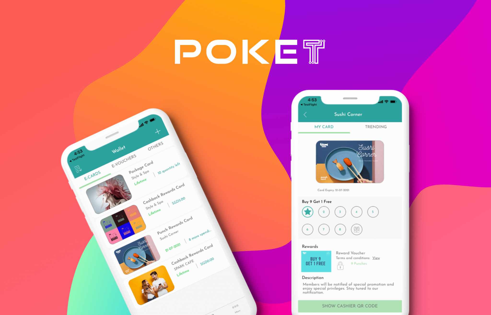 Poket Rewards Member App